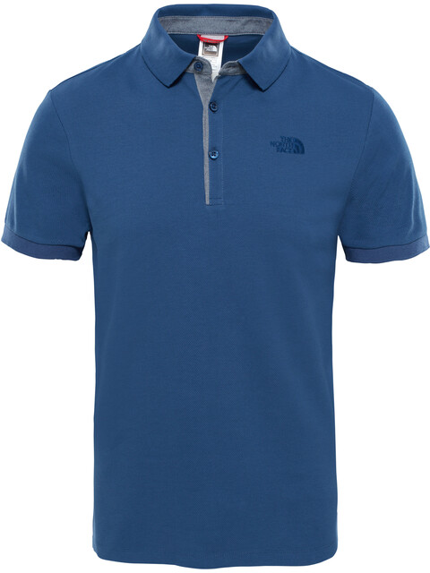 The North Face Premium Polo Pique Men Shady Blue